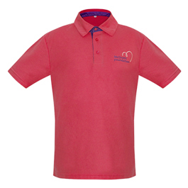 Shop Pink Men's Regular Polo Shirt